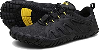 Voovix Mens Barefoot Shoes Athletic Trail Running Shoes Womens Outdoor Walking Shoes for Hiking Cross Training