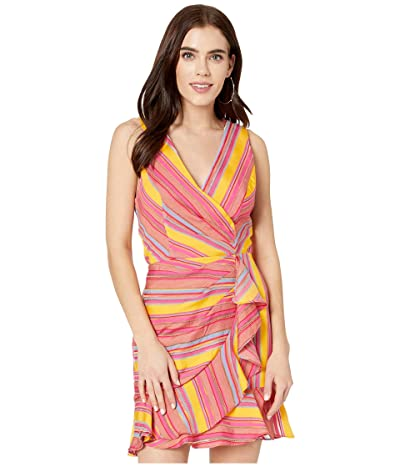 Parker Shella Dress (Salsa Stripe) Women