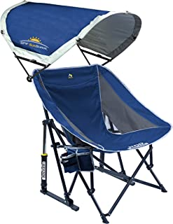 gci outdoor pod rocker with sunshade chair