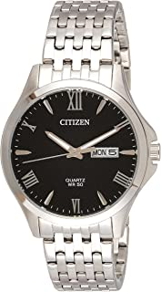 CITIZEN Mens Quartz Watch, Analog Display and Stainless Steel Strap - BF2020-51E