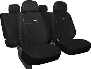 POK TER Maßgefertigtes Autositzbezugset für T ROC ab 2017 .Design Comfort in Alkantra Sitzfläche in 8 Farben.