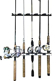Saim Fishing Rod Rack DIY Storage Holder Flexible Adjustable for Wall Garage Vehicle Car Rods Organizer 2 Pcs