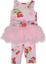 Kate Mack Baby Girl's Infant Cherries Jubilee Tunic & Capri Legging