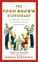 Best the food snobs dictionary Reviews