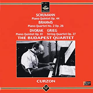 Schumann: Piano Quintet Op. 44 - Brahms: Piano Quartet No. 2 - Dvorak: Piano Quintet Op. 81 - Grieg: String Quartet Op. 27