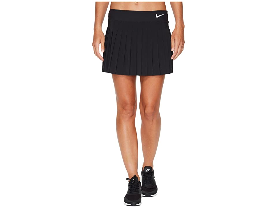 Nike Victory Skirt (Black/Black/White) Women