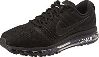 Men's Air Max 2017 Running Shoe Black/Black-Black 11.0