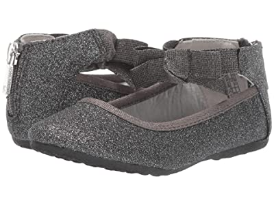 Kenneth Cole Reaction Kids Rose Bow (Toddler) (Pewter) Girl