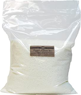 American Soy Organics Midwest Container Soy Wax: 10 lb Bag of Candle Wax for Candle Making