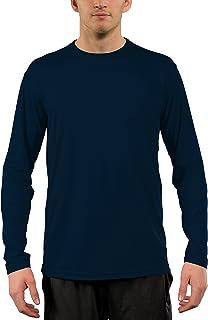 d05297e51661 Vapor Apparel Men's UPF 50+ UV Sun Protection Performance Long Sleeve T- Shirt