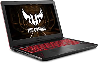 """ASUS TUF Thin & Light Gaming Laptop PC (FX504) 15.6"""" Full HD, 8th-Gen Intel Core i5-8300H (up to 3.9GHz), GeForce GTX 1050..."""