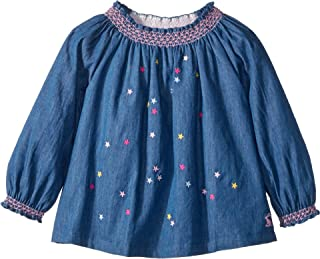 Womens Star Embroidery Woven Top (Infant)
