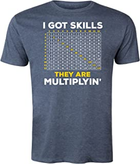 Instant Message I Got Skills Multiplyin - Men`s Short Sleeve Graphic T-Shirt