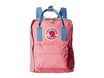 Fjallraven Kanken Mini (Pink/Air Blue) Backpack Bags