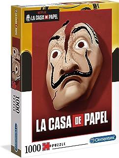 Clementoni- Puzzle 1000 Piezas La Casa de Papel (39533.0)