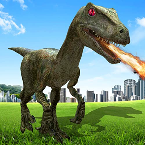 Real Dino Robot world Destruction Battle Car Games