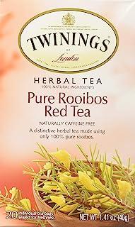 Twinings Tea African Red Roobios 1 Pack ( 20 Teabags)