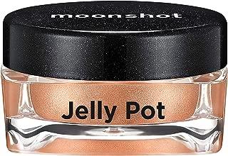 ムーンショット(moonshot) ブラックピンク ゼリーポット パールタイプ アイシャドウ Jelly Pot Pearl Type Eyeshadow (P01 ストンピロー Stone Pillow)