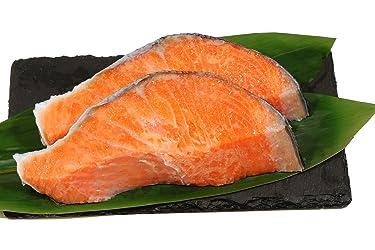 [冷蔵] 魚の北辰 ふり塩 銀鮭(切身)2切 200g