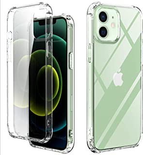 Baricy Clear Series Case – Clear Ultra Slim Flexible Shock-Absorbtion Bumper Cover with Anti-Scratch Back Clear Case (iPho...