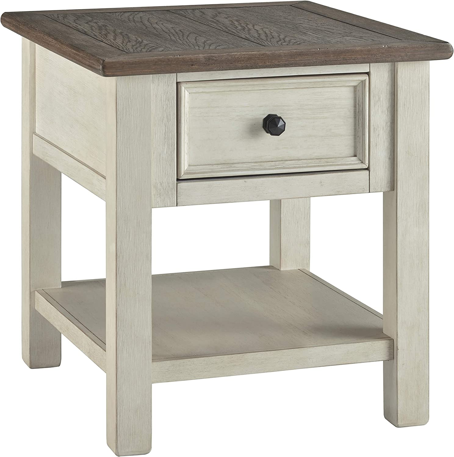 Signature Design by Ashley T637-3 Bolanburg End Table, Two-Tone