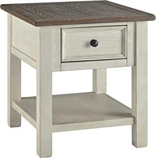 Signature Design by Ashley Bolanburg Rectangular End Table Two-Tone