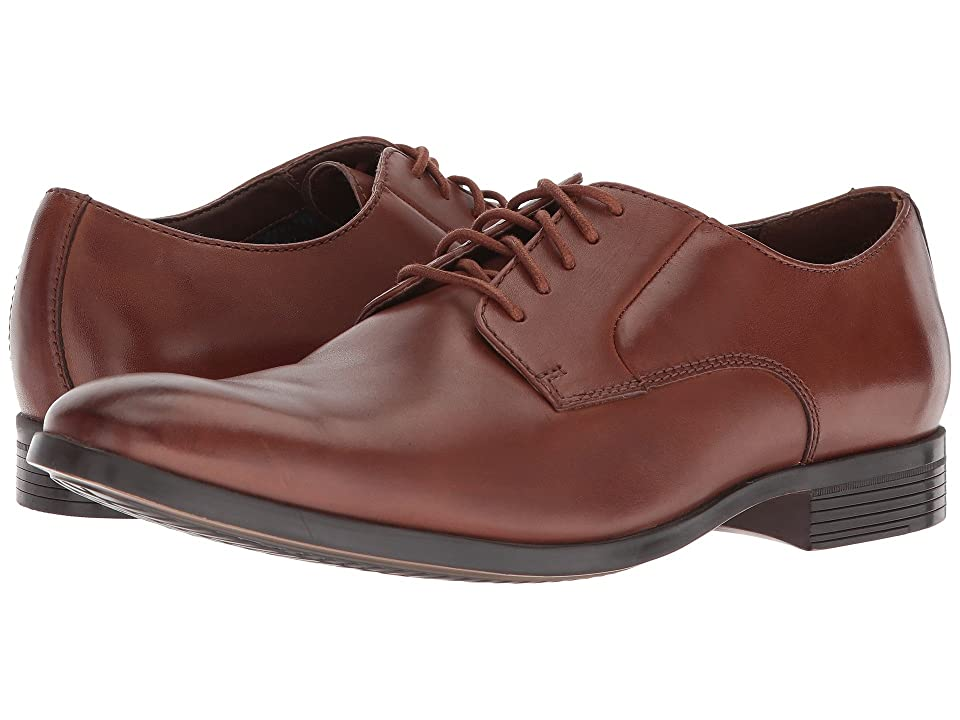 Clarks Conwell Plain (Tan Leather) Men
