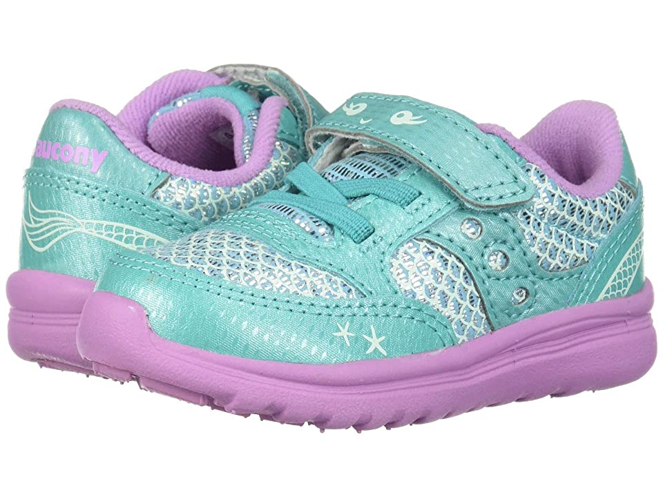 Saucony Kids Originals Jazz Lite (Toddler/Little Kid) (Turquoise/Mermaid) Girls Shoes