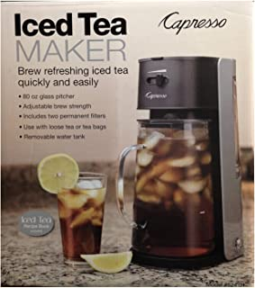 Capresso Ice Tea Maker #624 Black & Silver