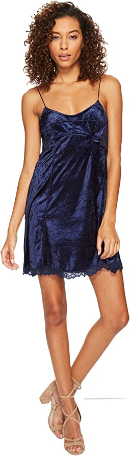 Free People - Cheeky Velvet Mini Dress
