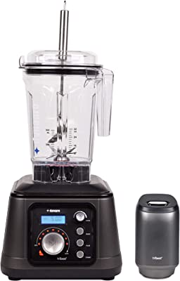 Tribest DPS-1050 Dynapro Commercial Vacuum Blender with Anti-Oxidation, Gray