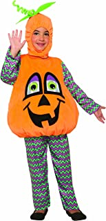 Forum Novelties 80524 Wiggle Eyes Pumpkin Child's Costume, Small, Pumpkin