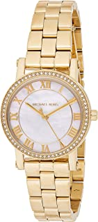Michael Kors Womens Quartz Watch, Analog Display and Stainless Steel Strap MK3682
