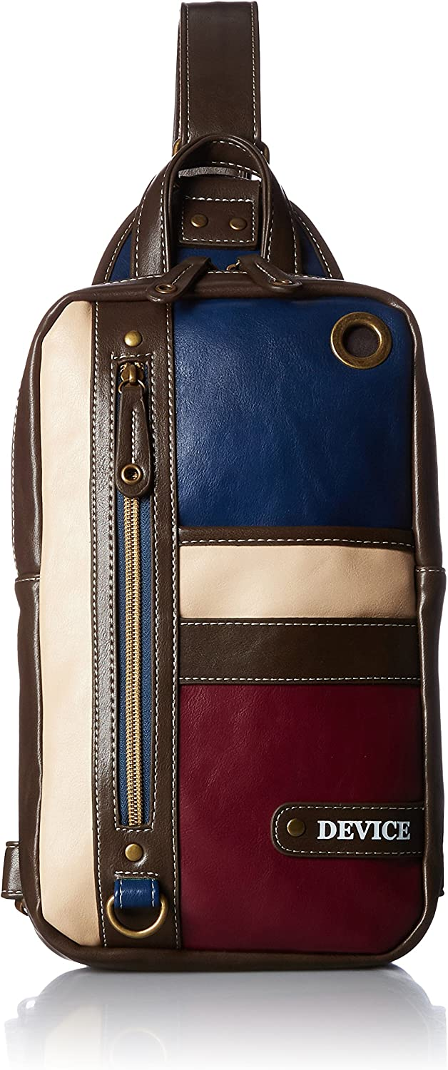 [Device] body bag hooked DBG40033 navy wine