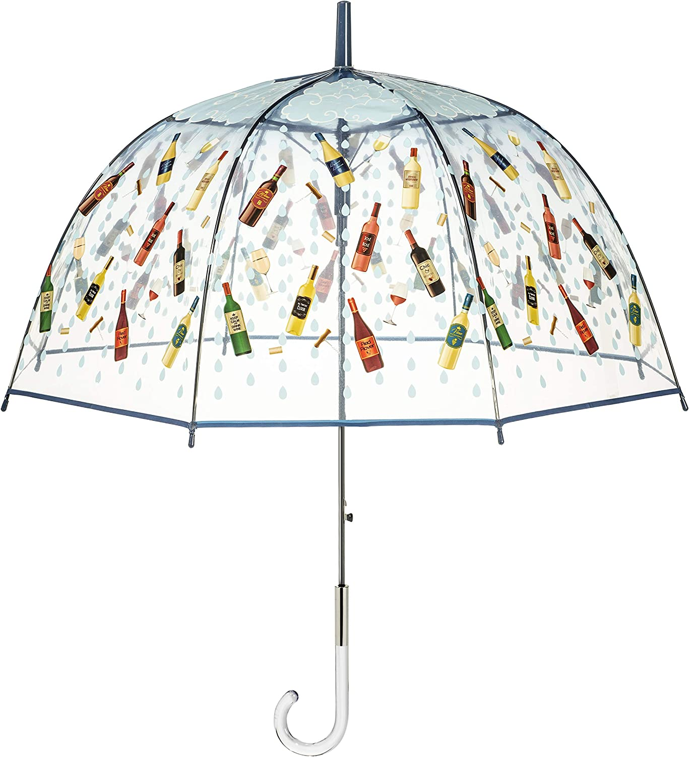 Maad Brands Outlet ☆ Free Shipping Wine Many popular brands Lovers Bubble Fr Girlfriends Dome Umbrella for