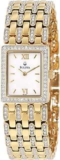 Bulova - 98L159 - Reloj, Correa de Acero Inoxidable Color Dorado