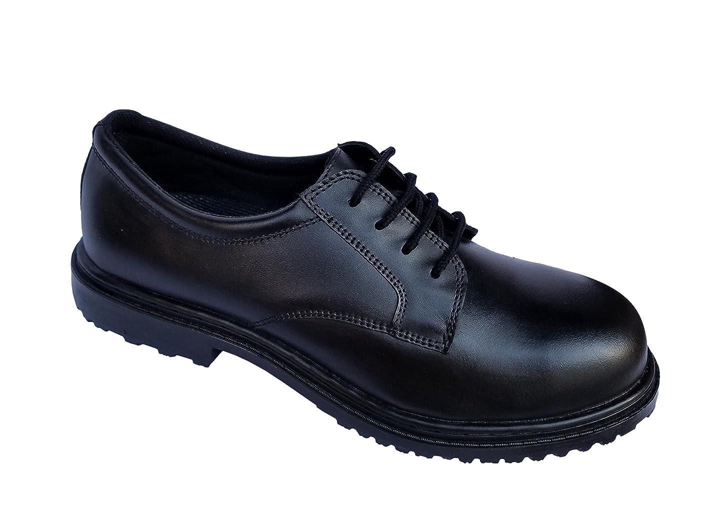 ラジウムルーチン収穫excelshoesメンズOil & Slip Resistant Steel Toe Works Shoe