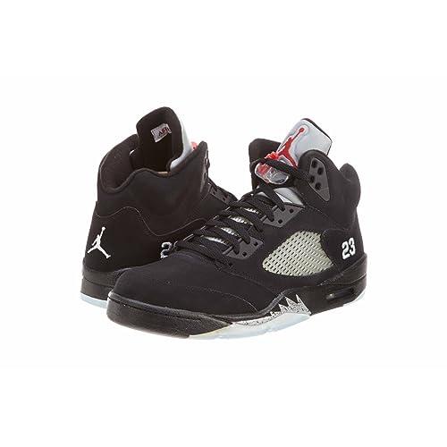 116eb19ba15 Jordan Nike Air 5 Retro Mens Basketball Shoes 2011 [136027-010] Black/
