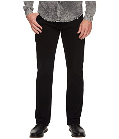 7 For All Mankind The Straight Tapered (Luxe Performance Annex Black) Men
