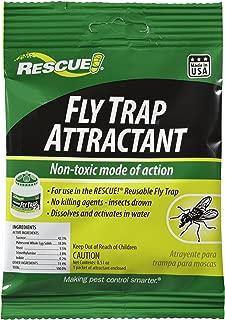 RESCUE Outdoor Non-Toxic Reusable Fly Trap Attractant Refill