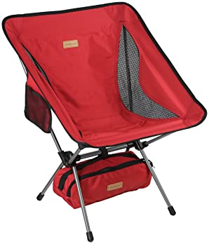 Trekology YIZI GO Portable Camping Chair - Compact Ultralight Folding Backpacking Chairs, Small Collapsible Foldable ...