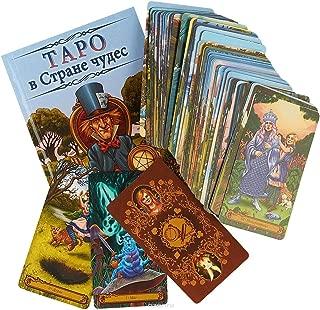 Tarot in Wonderland Moore Barbara 78 Tarot Card Deck + guidbook