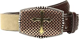 M&F Western - Embossed Tabs/Copper Buckle