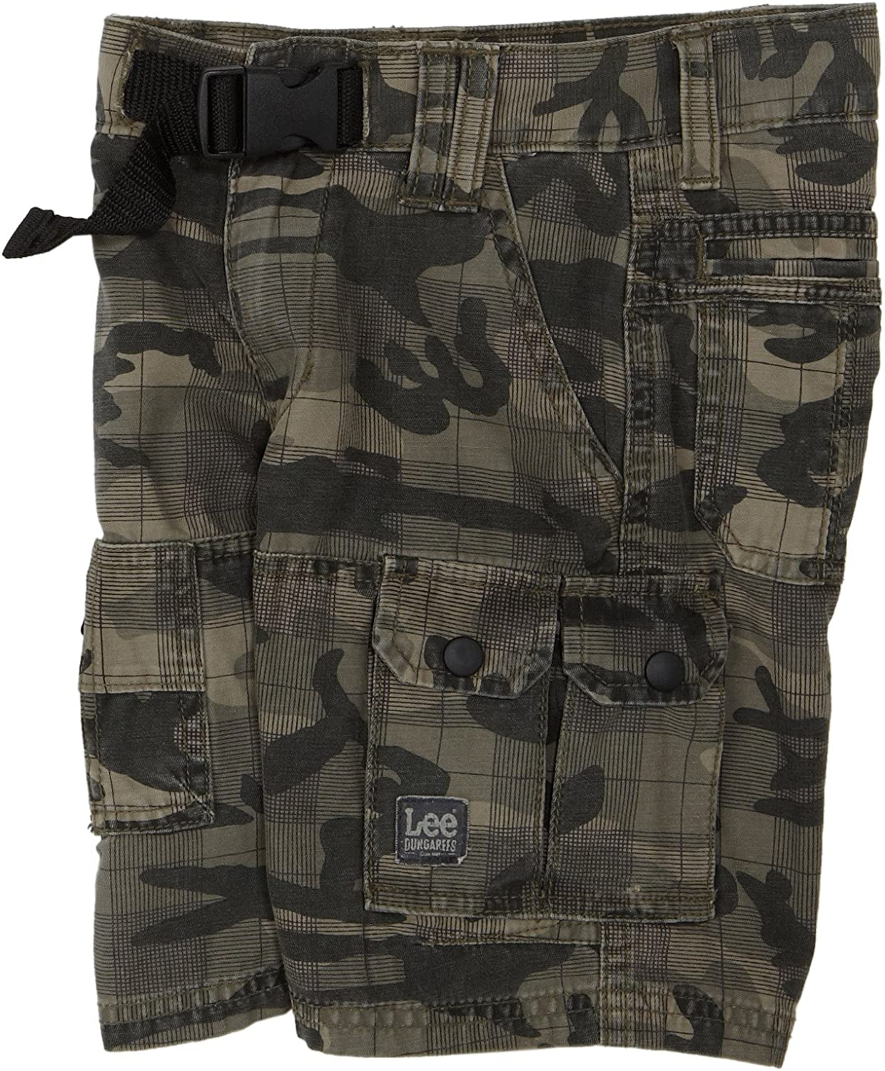 Lee Boys Lee Dungarees Marty Short, Traditional Camo, Little Boys'X