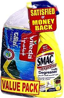 SMAC Express Multi Degreaser Lemon Scent, 650 ml + Sponge