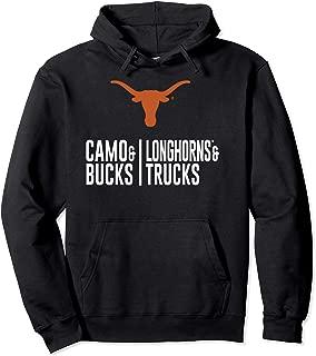 Texas Longhorns Camo And Bucks - Apparel Pullover Hoodie