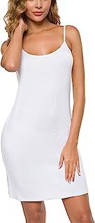 Malist Women Full Slip Adjustable Spaghetti Strap Cami Under Dress