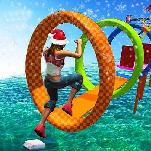 Stuntman Water Running Game 3D