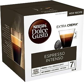 Nescafé Dolce Gusto Espresso Intenso Café, 16 Capsules