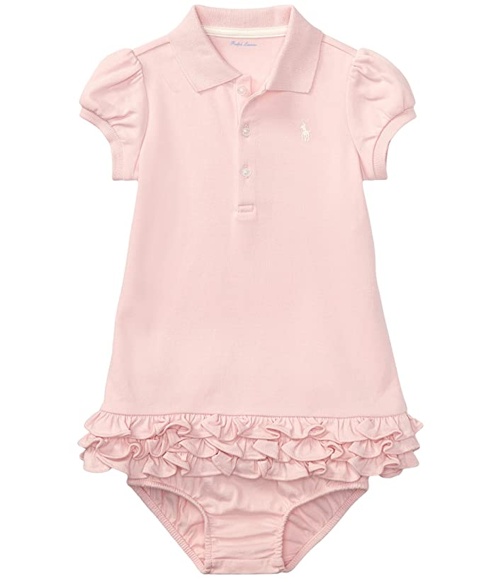 01636f23 Ralph Lauren Baby Interlock Cupcake Dress (Infant) at Zappos.com